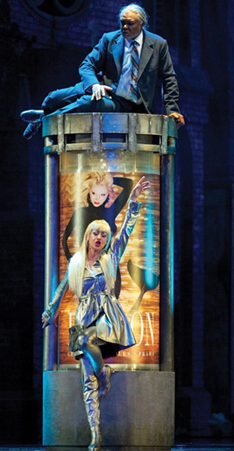 Rusalka segons la producció de Herheim. Teatre de La monaie de Brussel·les