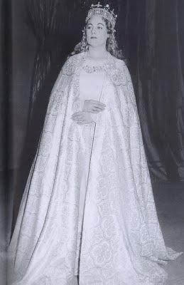 Renata Tebaldi (Elsa) Lohengrin al Teatro san carlo de Nàpols (1954)