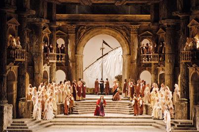 La Clemenza di Tito al MET. Producció de Jean Pierre Ponnelle