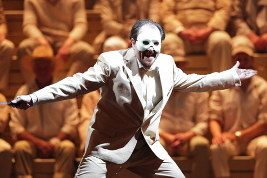 Franco Vassallo Rigoletto a Munic- Foto Wilfried Hösl