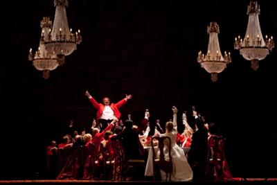 Falstaff a la Scala, producció de Robert carsen, fotografia de Rudy Amisano