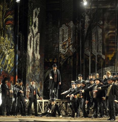 I Manasdieri a La Fenice 2013 Producció de Gabriele Lavia. foto©Michele Crosera