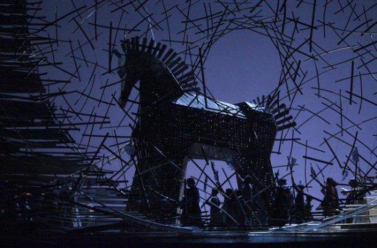Les Troyens, acte 1er Metropolitan Opera House, produccio de Faancesa Zambello