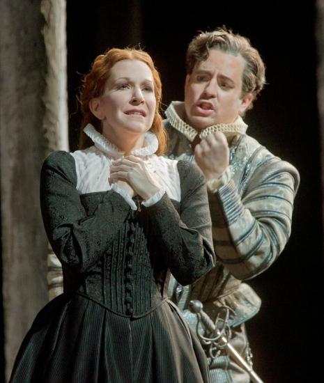 Matthew Polenzani i Joyce DiDonato a la Maria Stuarda del MET, Foto Ken Howard/MET