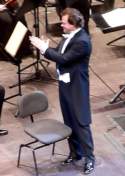 Sergei Skorokhodov (Vaudémont) al Gran Teatre del Liceu, 10 de gener de 2013. Fotografia gentilesa de Josep (El cafè de nit)