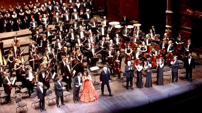 L'Orquestra i el Cor del Teatre Mariinski de sant Petersburg, amb Valery Gergiev i els solistes de la Iolanta de P.I.Txaikovski al Gran Teatre del Liceu 10 de gener de 2013