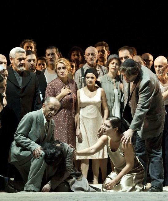 Leo Nucci-Liudmyla Monastyrska-Veronica Simeoni-Aleksandrs Antonenko. Producció de Daniele Abbado Fotografia Rudy Amisano