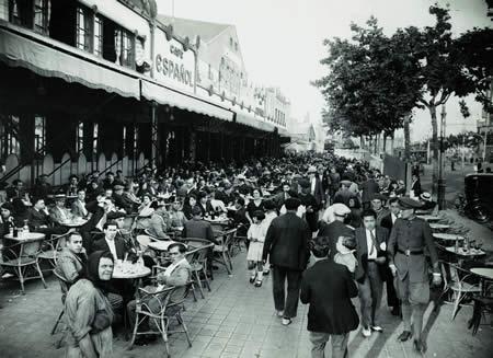 La terrassa del Cafè Espanyol