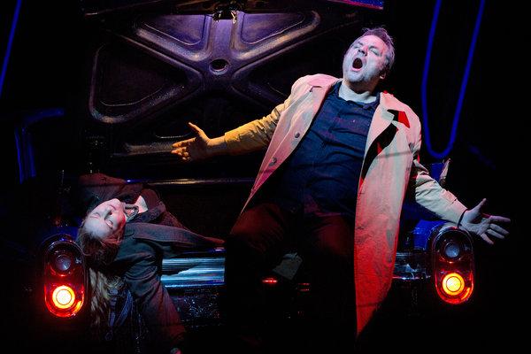 Zeljko Lucic (Rigoletto) i Diana Damrau (Gilda), al Rigoletto del MET 2013, producció de Michael Mayer, fotografia Ken Howard/MET