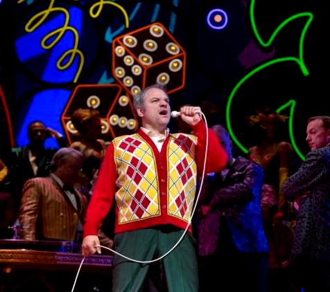 Zeljko Lucic (Rigoletto) al MET 2013 Producció de Michael Mayer  Fotografia Ken Howard/MET