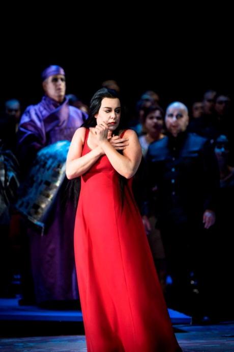 Nina Stemme com a Turandot a la L'Òpera Reial d'Estocolm Foto Carl Thorborg