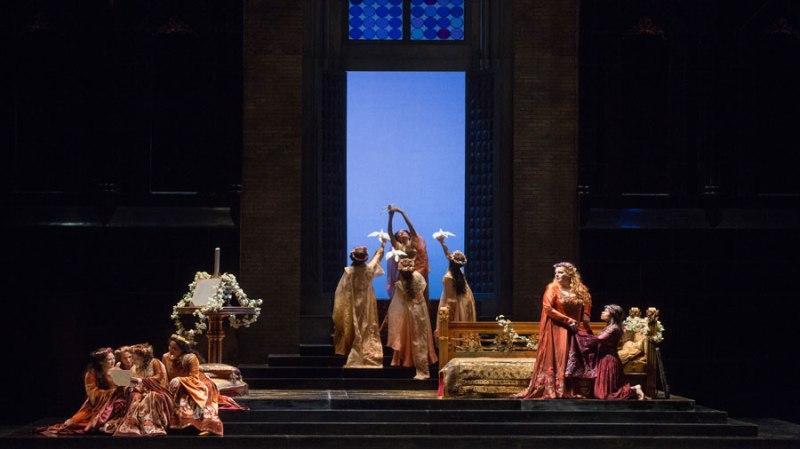 Francesca da Rimini, acte 3er, producció de Piero Fagioni (1984) MET