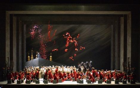 Khovàntxina a l'ONP producció d'Andrei Serban Fotografia: foto: Ch. Leiber
