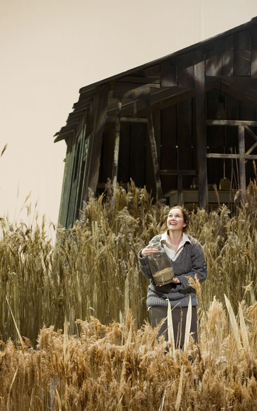 Svetlana Ignatovich (Fevroniya) a La ciutat invisible de Kitege, producció de Dmitri Tcherniakov. Amsterdam 2012