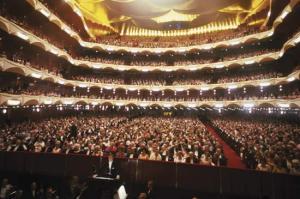 L'impressionant sala del Metropolitan Opera House de New York