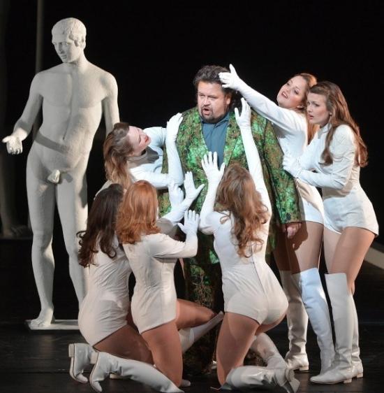 Parsifal, acte 2on, producció de Michael Schulz Festival de Salzburg. Foto picture alliance / dpa