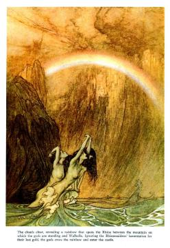 Arthur Rackam- Das Rheingold