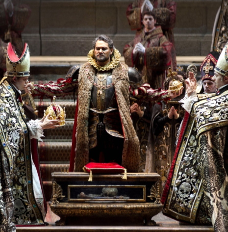 Ildar Abdrazakov (Filippo II) a Don Carlo al Teatro Regio de Tori, producció Hugo de Ana. Fotografia: Ramella&Giannese T.Regio