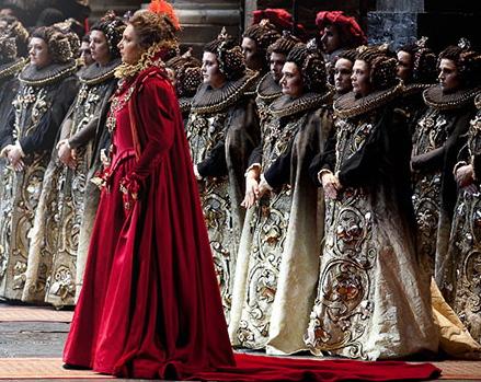 Barbara Frittoli, Elisabetta al Don Carlo del Teatro Regio de Torí, producció de Hugo de Ana