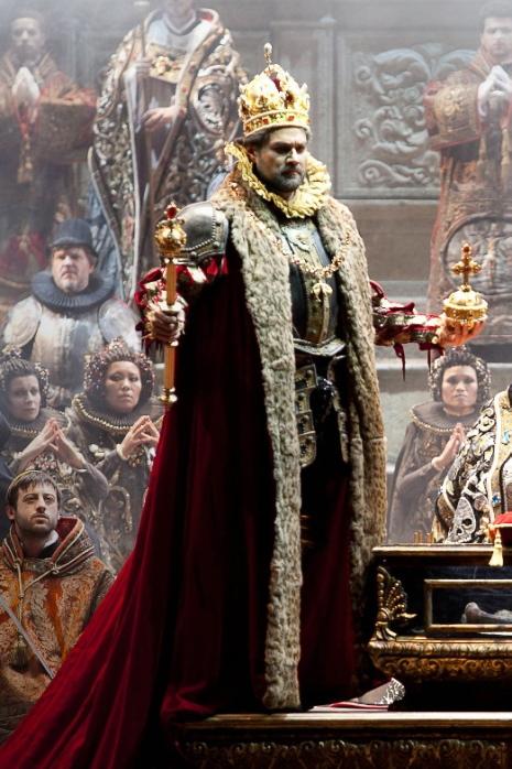 Filippo II – Ildar Abdrazakov al Teatro Regio de Tori, producció de Hugo de Ana. Fotografia:Ramella&Gianesse Teatro Regio
