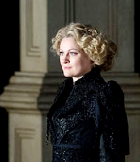 Patrica Bardon Cornelia a Giulio Cesare, producció David McVicar