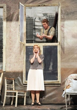 Simon Keenlyside i Anne Schwanewilms a Wozzeck, producció de Adolf Dresen per a l'Òpera de Viena