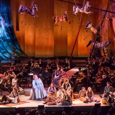 Producció de Carousel al Lincoln Center 2013 de John Rando.