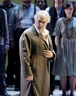 Plácido Domingo (Nabucco) a la ROH Coven Garden de Londres, producció de Daniele Abbado