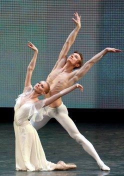 Olga Yésina i Alexandr Serguéiev Mariinski 2 © RIA Novosti. Alexei Danichev