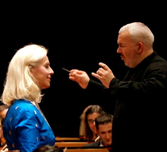 Anne Sophie Von Otter i Marc Monkowski a Halle aux Grains, Tolosa  26 d'abril de 2013