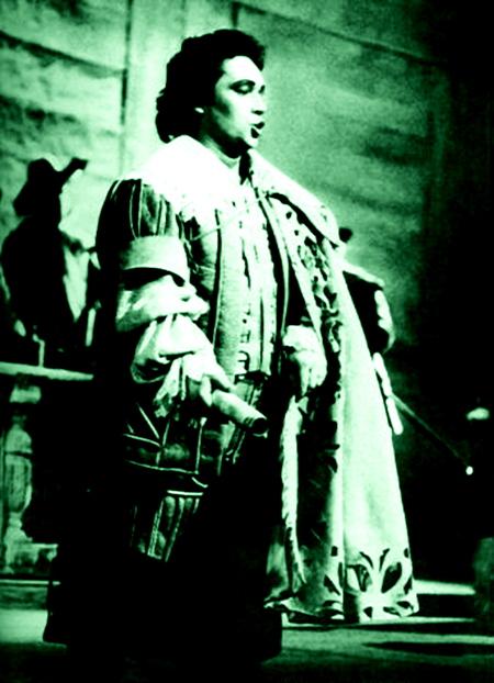 Josep Carreras (Riccardo) a Un ballo in maschera. Debut a la Scala