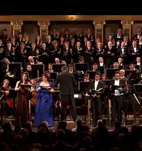 Frittoli, Lemieux, Gatti, Pirgu, Colombara. Musikverein de Viena, 14 de maig de 2013