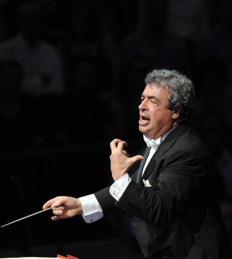Semyon Bychkov al Royal Albert Hall el 27 de juliol de 2013 Fotografia: