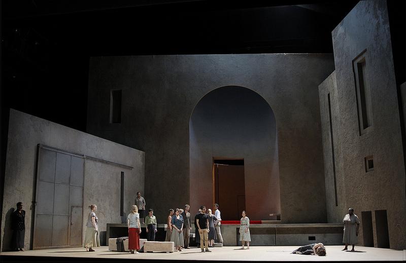 Elektra, producció de Patrice Chéreau, escenografia de Richard Peduzzi Aix-en Provencer 2013 Fotografia Pascal Victor/ArtComArt
