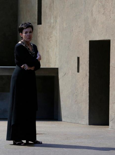 Waltraud Meier coma  Klytämnestra a l'Elektra del Festival d'Aix-en-Provence 2013, producció de Patrice Chéreau. Foto original Pascal Victor ArtcomArt
