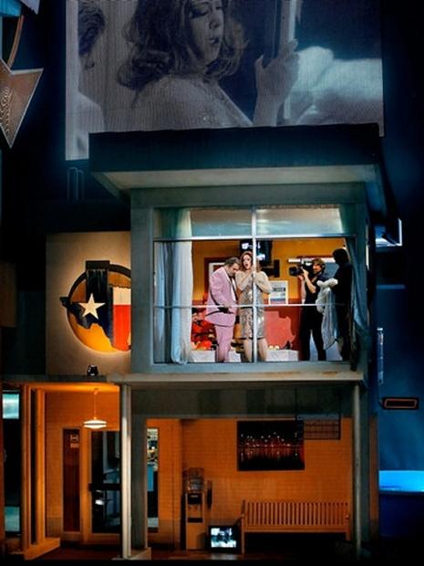 Das Rheingold a Bayreuth 2013, producció de Frank Castorf. Fotografia: Enrico Nawrath