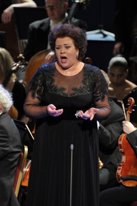 Violeta Urmana (Isolde) Proms 27 de juliol de 2013 Foto BBC/Chris Christodoulou