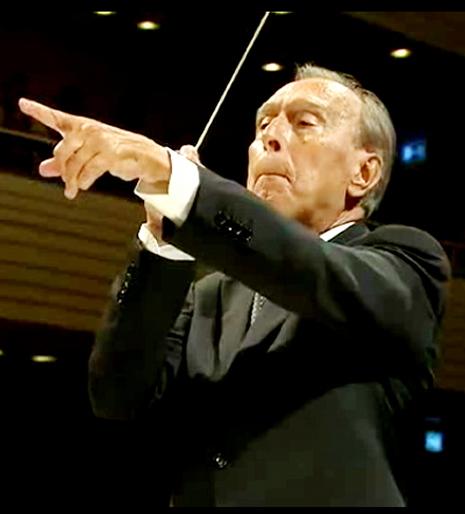 Claudio Abbado, 16 d'agost de 2013 Festival de Lucerna