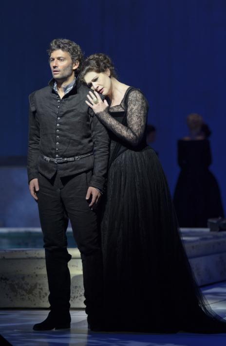Jonas Kaufmann i Anja Harteros al Don de Carlo a salzburg 2013- Producció de Peter Stein Fotografia de Monika_Rittershaus