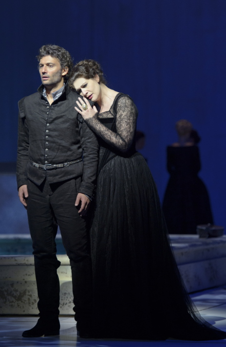 Jonas Kaufmann i ANja Harteros al Don Carlo de Salzburg 2013. Fotografia: Monika_Rittershaus