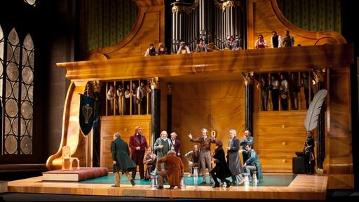 Die Meistersunger von Nürnberg. Producció de Stefan Hernheim. Fotrgrafia gentilesa del Salzburger Festspiele