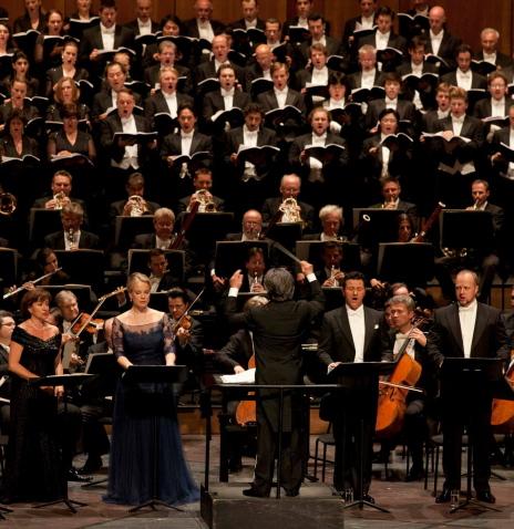 Rèquiem de Verdi al Festival de Salzburg, 18 d'agost de 2013. Foto © Silvia Lelli