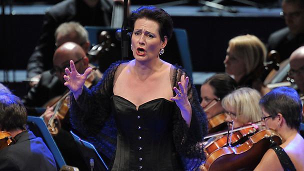 Daniela Sindram, Venus al Tannhäuser dels PROMS del 4 d'agost de 2013. Fotografia: Chris Christodoulou