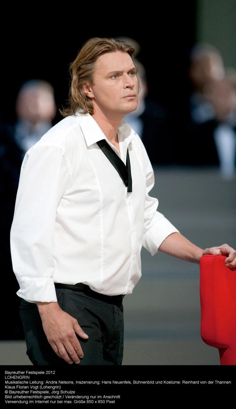 Klaus Florian Vogt, Lohengrin a la producció de Neufels del Festival de Bayreuth