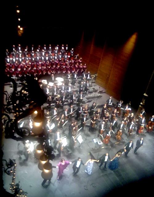 Gran Teatre dle Liceu inauguració de la Temporada 2013-2104 Concert Verdi 1 30 de setembre de 2013 Foto IFL