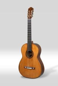 Guitarra Torres. Fotografia gentilesa del Museu de la Música de Barcelona