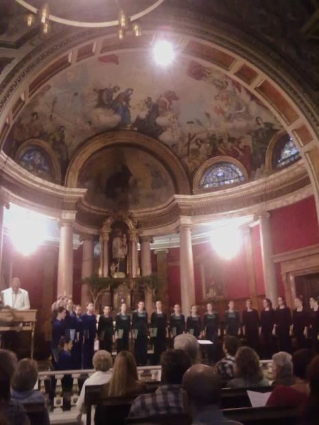 Concert de presentació de I Vivaldini, església de Sant Gaietà (barcelona), 20 d'octubre de 2013