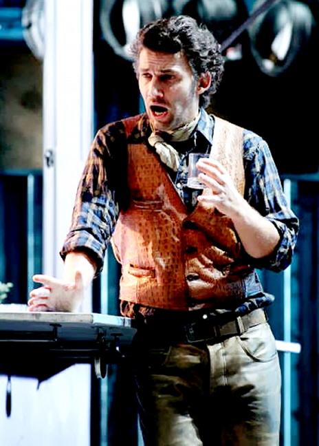 Jonas Kaufmann com Dick Johnson a La Fanciulla del West a Viena