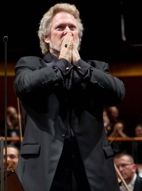 Gregory Kunde (Peter Grimes) al Parco della Musica de Roma. Foto gentilesa del Facebook dell'Accademia Nazionale di Santa Cecilia
