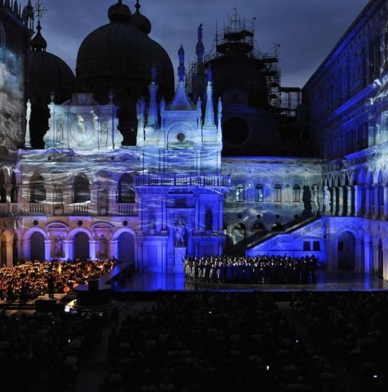 Otello al Palau Ducal de Venècia, juliol del 2013. Foto gentilessa de GBopera